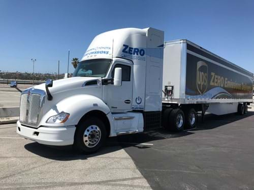 Kenworth Toyota fuel cell electric truck