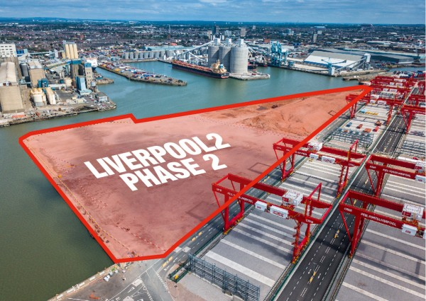 The Liverpool2 Phase 2 development area