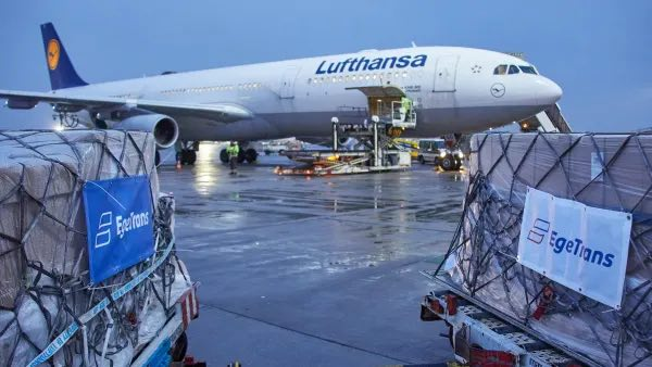 Cargo-only transports in passenger aircraft continue to ensure system-relevant supply chains
