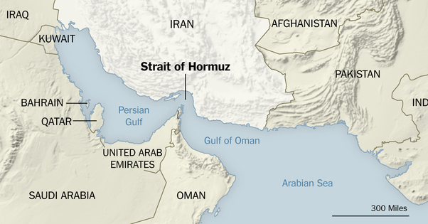 Airlines avoid Strait of Hormuz after Iran-US tensions escalate