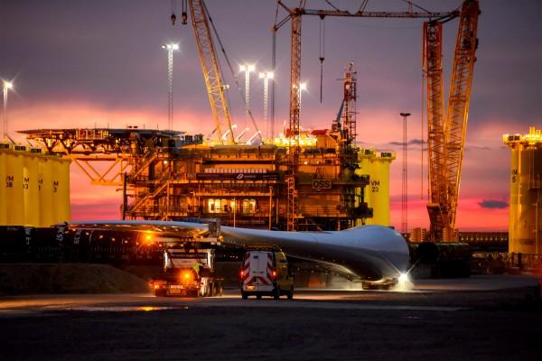 Transport of the world's longest blade. Photo credit: Rene Schütze