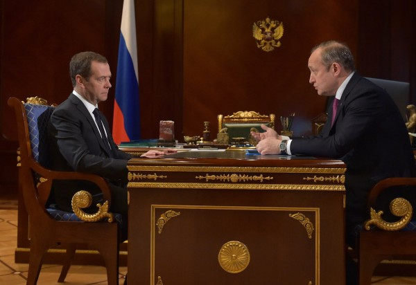 Dmitry Medvedev & Sergey Frank