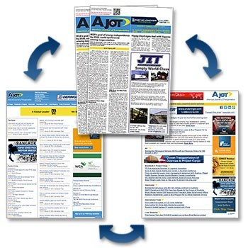 Bring your advertising full circle with AJOT news media options!