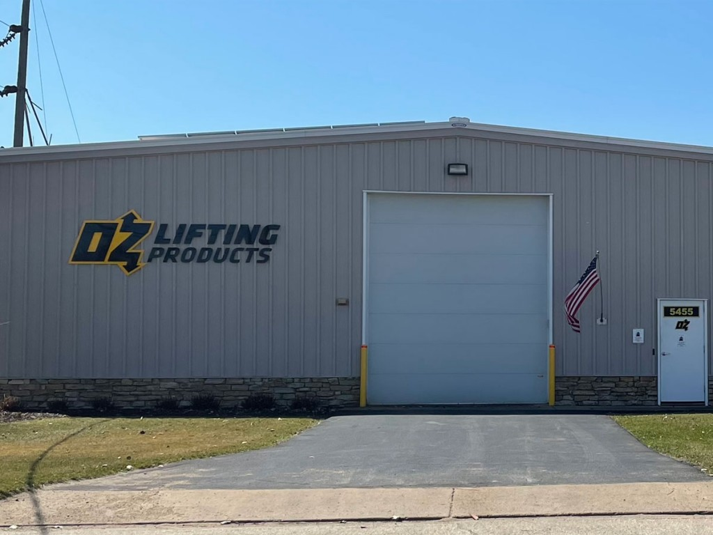 OZ Lifting, a Winona, Minnesota-based manufacturer, offers its range of davit cranes, hoists and other lifting equipment through Grainger.