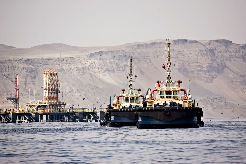 Svitzer vessels operating in Peru (photo credit: Svitzer)