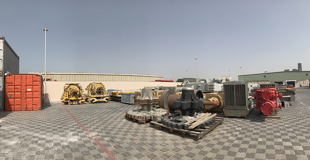 Paragon Offshore's logistics base in Abu Dhabi completed with GAC's