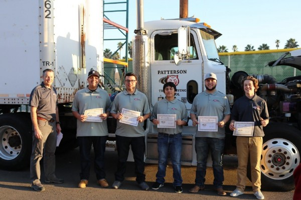 California High School Takes On Commercial Truck Driver Shortage