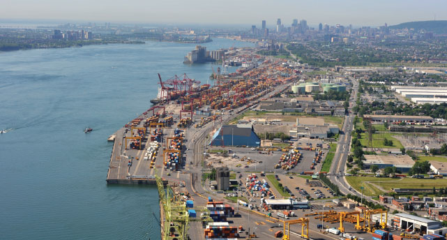 Strategically located between the world's two largest economic blocs, the EU and NAFTA, the Port of Montreal is the natural gateway for Europe.