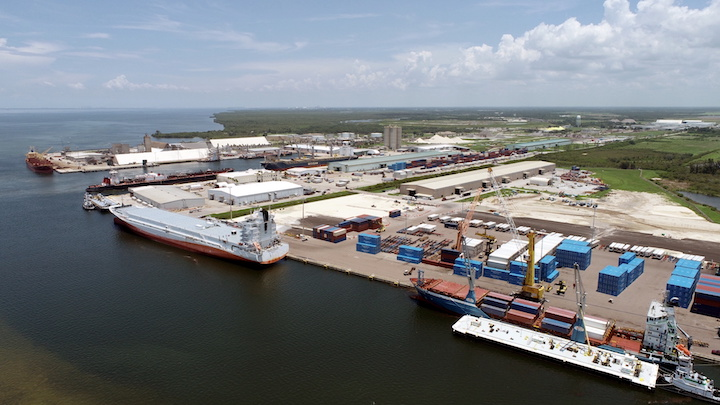 Port Manatee is anticipating a significant increase in exports of steel materials following the acquisition of a port-adjacent facility by a unit of Peru-based Aceros Arequipa.