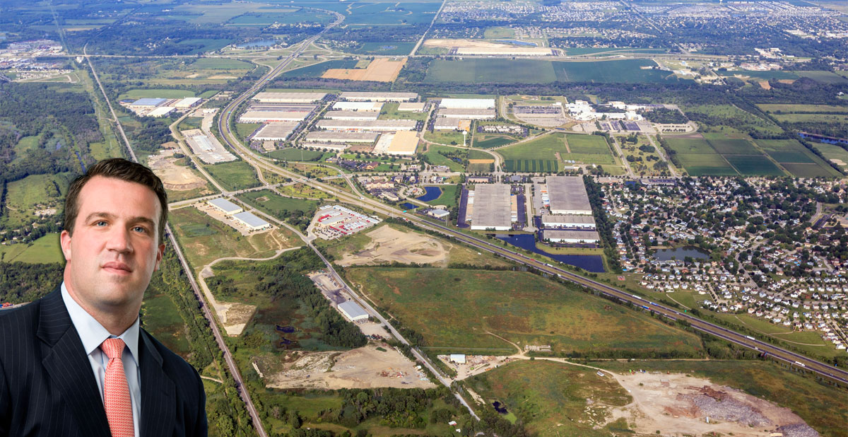 Brian McKiernan, senior vice president of CenterPoint, sees CenterPoint Intermodal Center-Joliet providing significant savings for shippers increasingly focused upon supply chain costs.