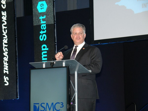 U.S. transportation infrastructure is in dire need of fixing and will require funding from multiple sources, a member of Congress saidtoday [Jan. 28] as Jump Start 2019, presented by SMC3, leaps into gear in suburban Atlanta.