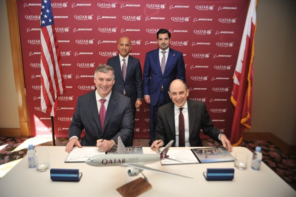 Qatar Airways Signs Agreement For Five 777 Freighters