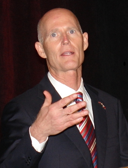 Florida Gov. Rick Scott is threatening to pull state funding from ports doing business with Cuba. (Photo by Paul Scott Abbott, AJOT)
