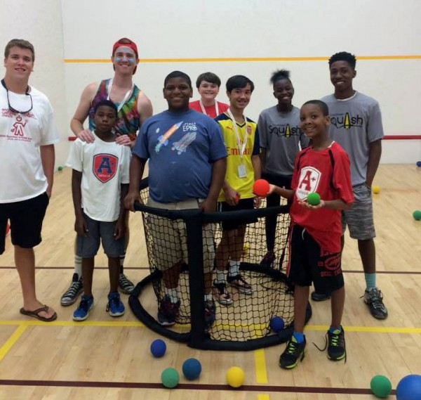 Chucktown Squash received a $5,000 SCPA Community Giving grant to provide support and services for under-served students and families throughout the Charleston community.