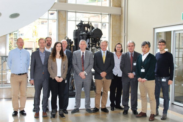 Shipdex™ Steering Committee Meeting taking place on November 9, 2017 in WinGD's headquarters in Winterthur, Switzerland.