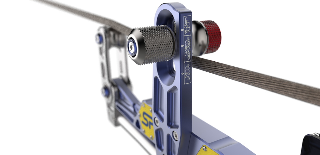 The COLT offers a lever ratio of 5.3:1, allowing effortless, safe, clamping onto pre-tensioned wire ropes.