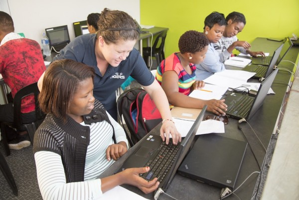 The programme teaches coding and IT skills to young adults to prepare them for work and secure their futures.