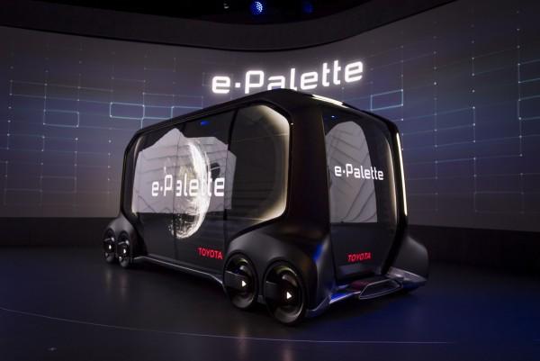 Toyota e-Palette concept vehicle Photographer: David Paul Morris/Bloomberg