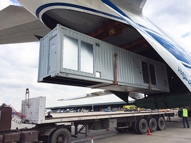 Altius S A  Argentina transports electric cell by air | AJOT COM